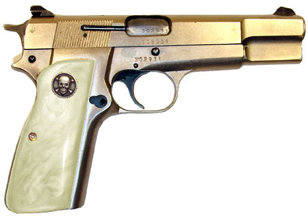 Browning Hi-Power in White Pearl
