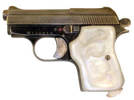 Tombstone Gun Grips: Tanfoglio GT27/FIE-Titan 25acp (7E)